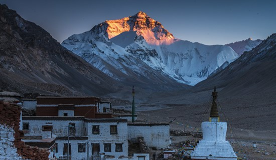 Tibet Adventure Tour to Everest BC