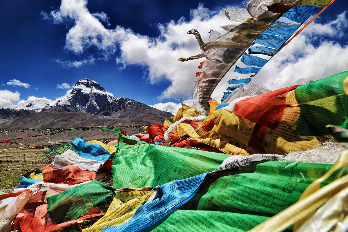 Prayer Flags | Photo by Liu Bin