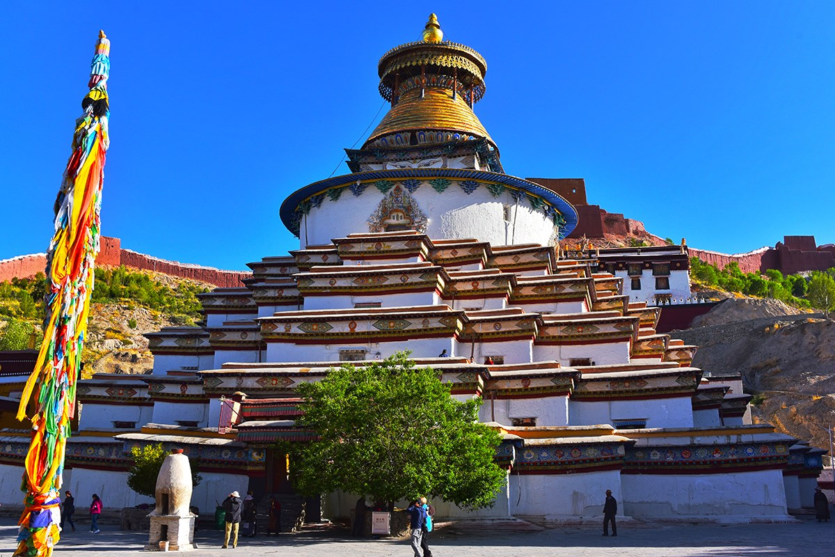Kumbum Stupa of Palkhor Monastery | Photo by Liu Bin