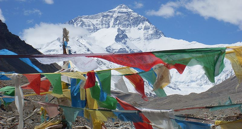 Mountain Everest (Qomolangma)