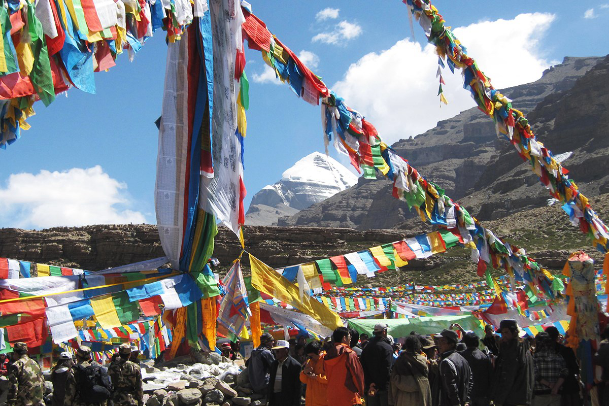 Saga Dawa Festival at Kailash | Photo by Chunda