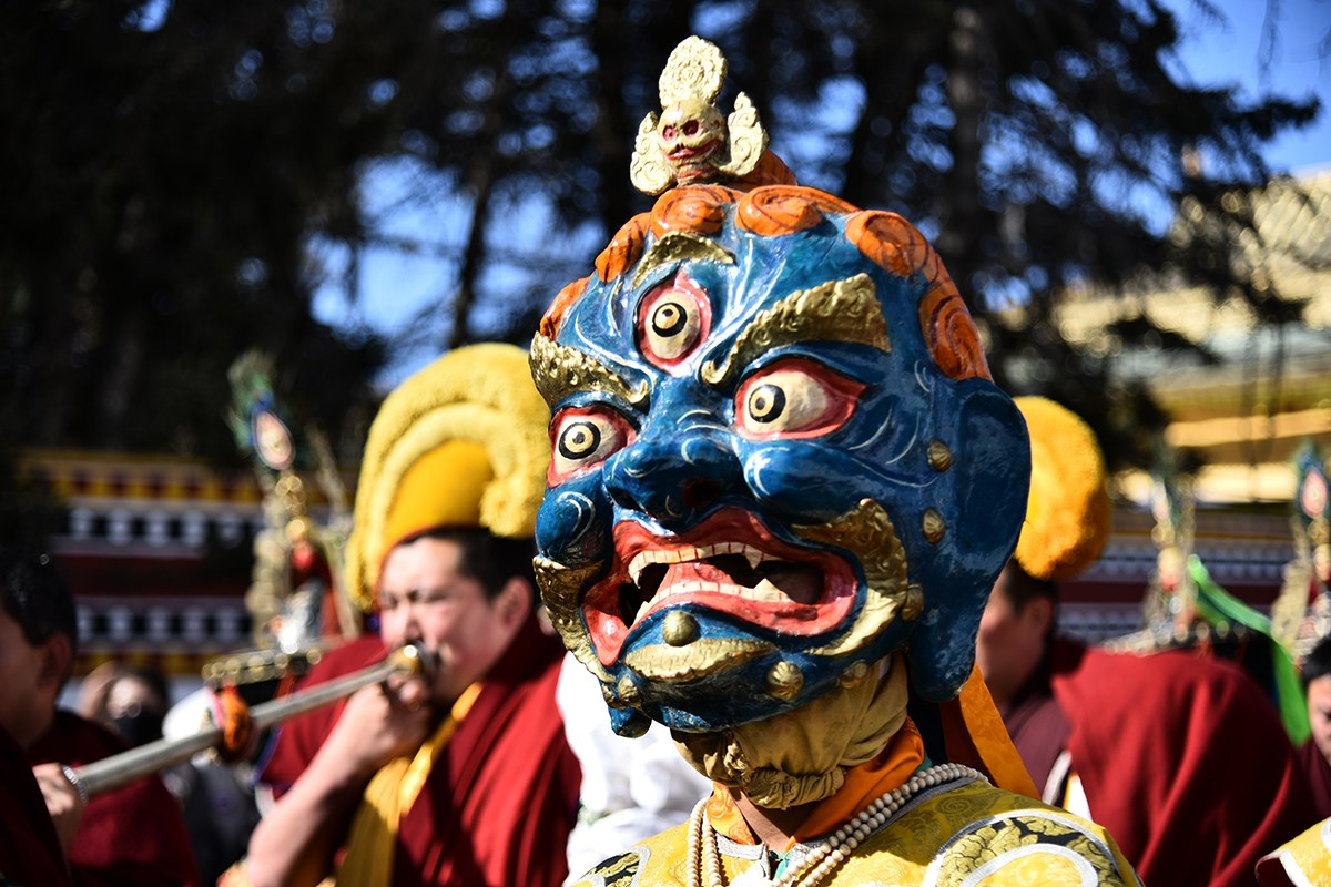 Monlam Festival Losar in Aba | Photo by Liu Bin
