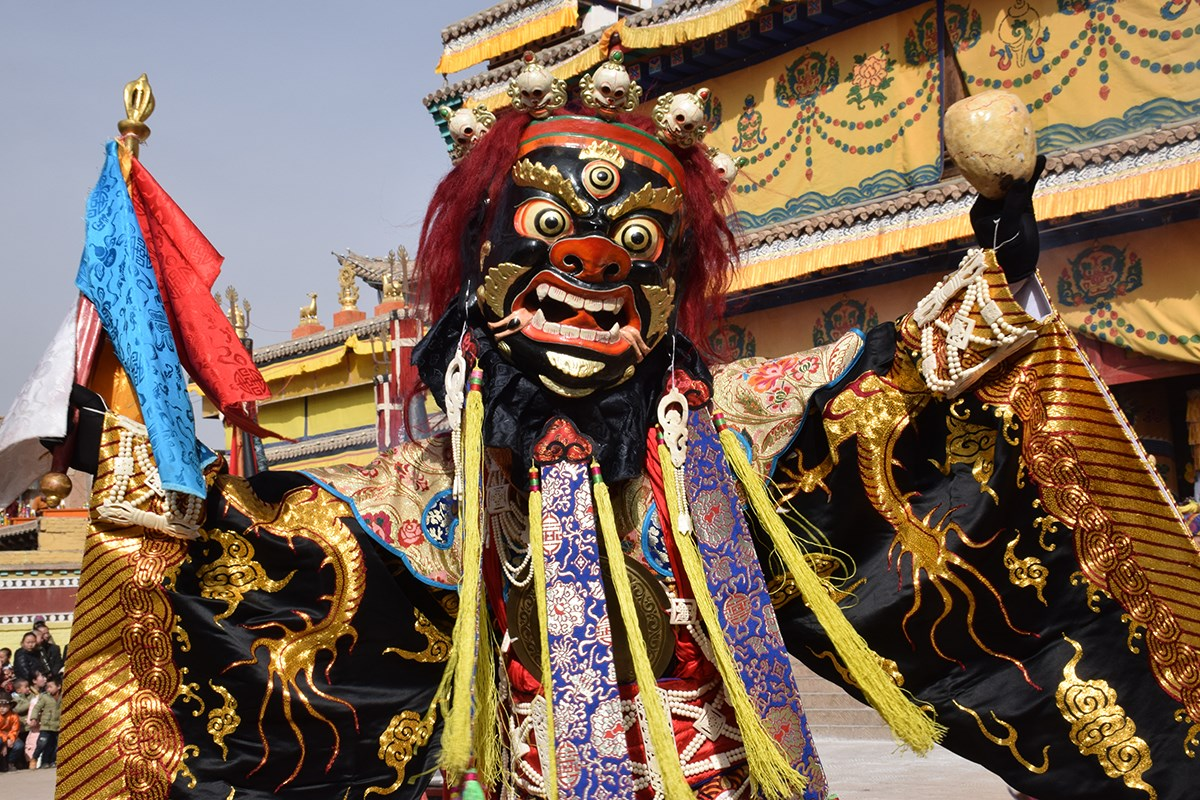 Monlam Festival Losar in Tongren | Photo by Prof. Hans Först