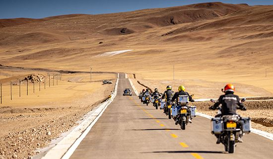 Tibet Rental Motorbike Adventure Tour to Everest BC and Kailash