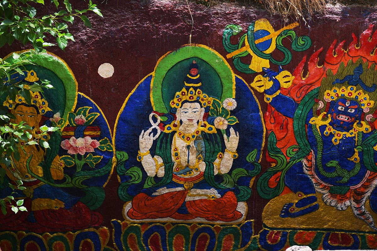 Mural at Sera Monastery | Photo by Liu Bin