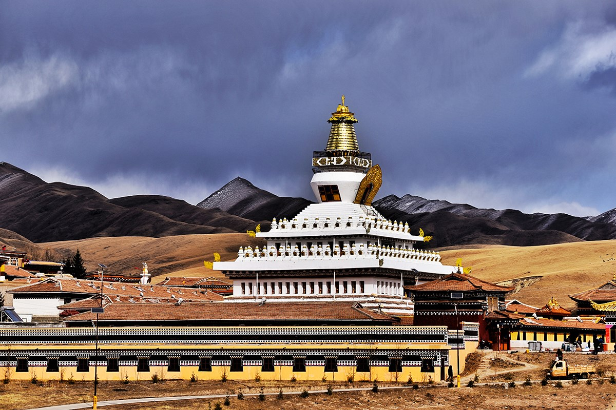 Bon Monastery of Nangshig | Photo by Liu Bin