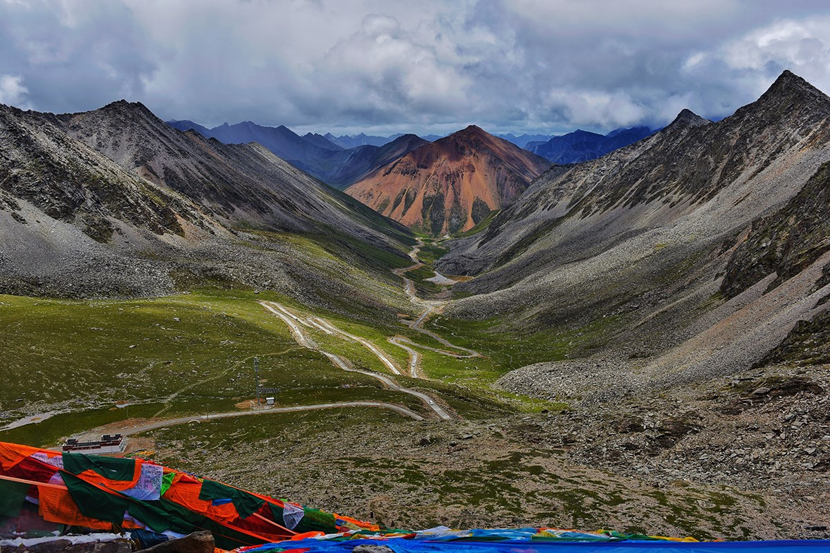 The Way to Holy Lake Lhamo Lhatso