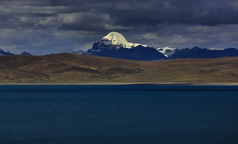 Holy Lake Monasarovar and Holy Mountain Kailash
