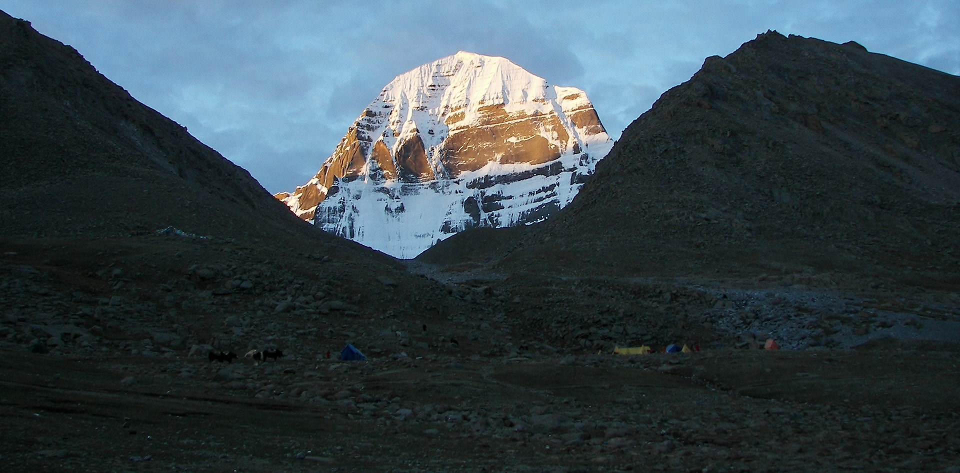 Tibet Trekking around Kailash with Everest BC and Tsada