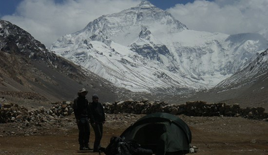 Tibet Trekking from Old Tingri to Everest