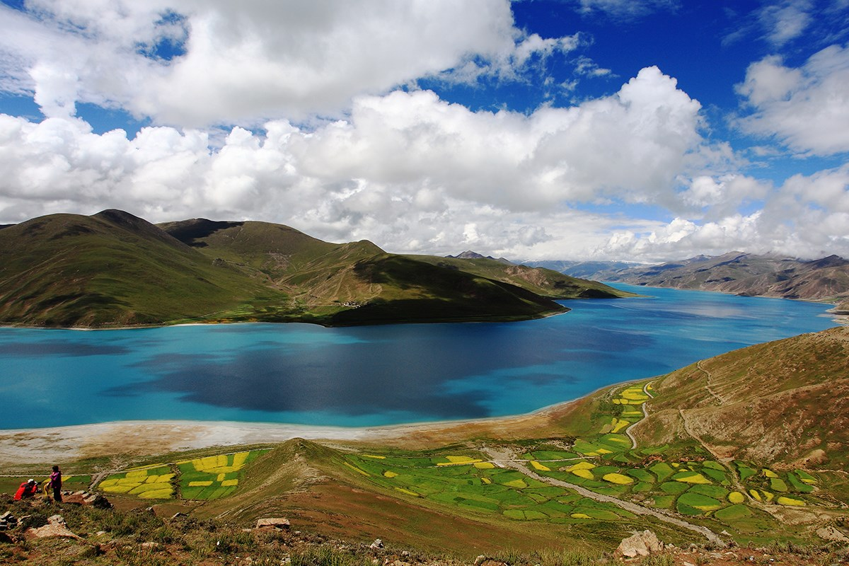 Yamdrok Lake | Photo by Mr. Zeng