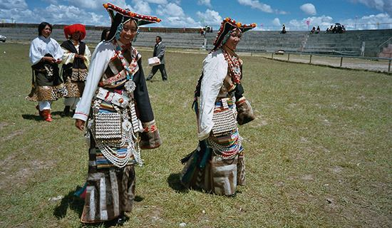 Tibet Tour during Horse Racing Festival in Naqu 2020