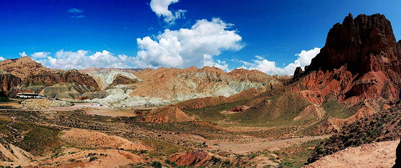 Danxia landform in Guide